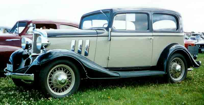 Chevrolet Master 1933 - 1942 Coupe #5