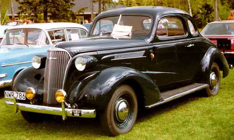 Chevrolet Master 1933 - 1942 Coupe #8