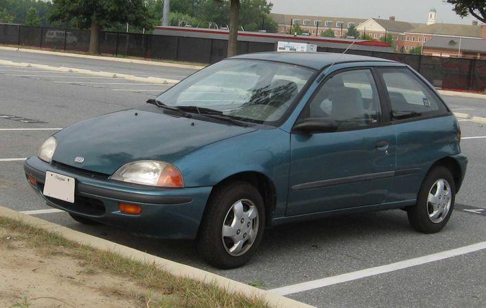 Chevrolet Metro 1998 - 2001 Hatchback 3 door #5