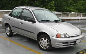Chevrolet Metro 1998 - 2001 Hatchback 3 door #8