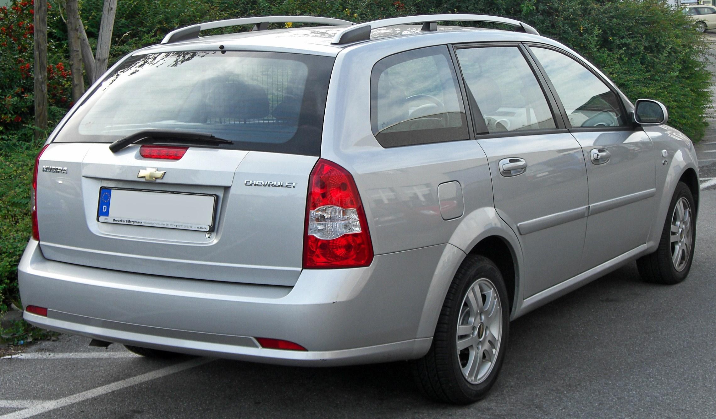 Chevrolet Nubira 2003 - 2010 Station wagon 5 door #3