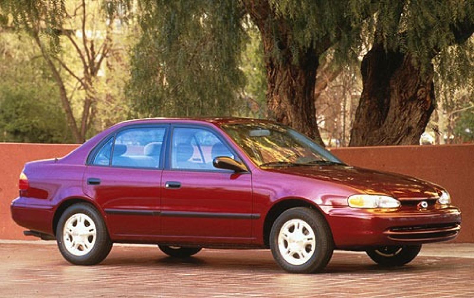 Chevrolet Prizm 1997 - 2002 Sedan #1