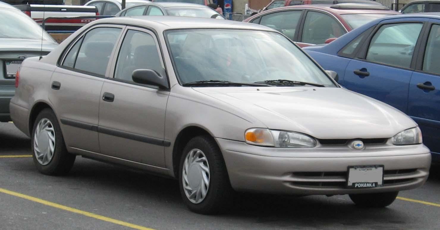 Chevrolet Prizm 1997 - 2002 Sedan #2