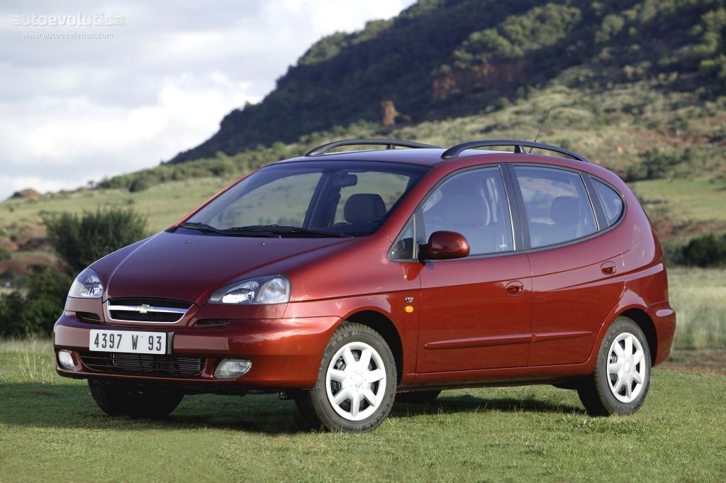 Chevrolet Rezzo 2000 - 2008 Compact MPV #4