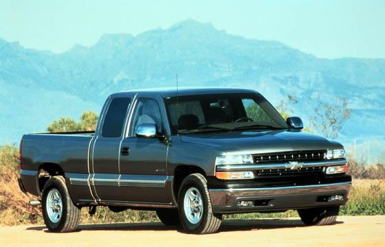 Chevrolet Silverado I (GMT800) 1998 - 2002 Pickup #5