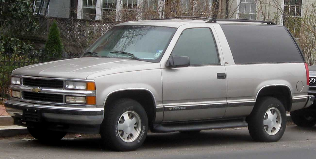 GMC Suburban 1992 - 1999 SUV 5 door #5