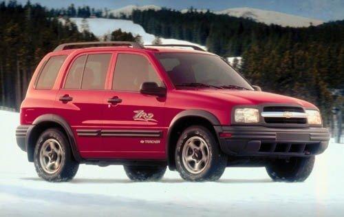 Chevrolet Tracker II 1998 - 2004 SUV #2