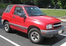 Chevrolet Tracker II 1998 - 2004 SUV #7
