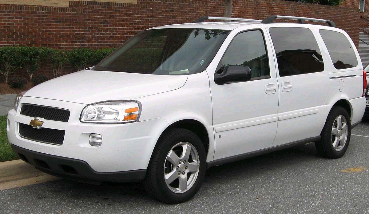 Chevrolet Uplander 2004 - 2008 Minivan #7