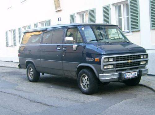 Chevrolet Van 1980 - 1996 Minivan #2