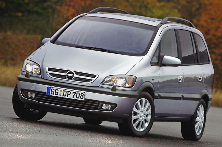 Chevrolet Zafira 2001 - 2012 Compact MPV #1