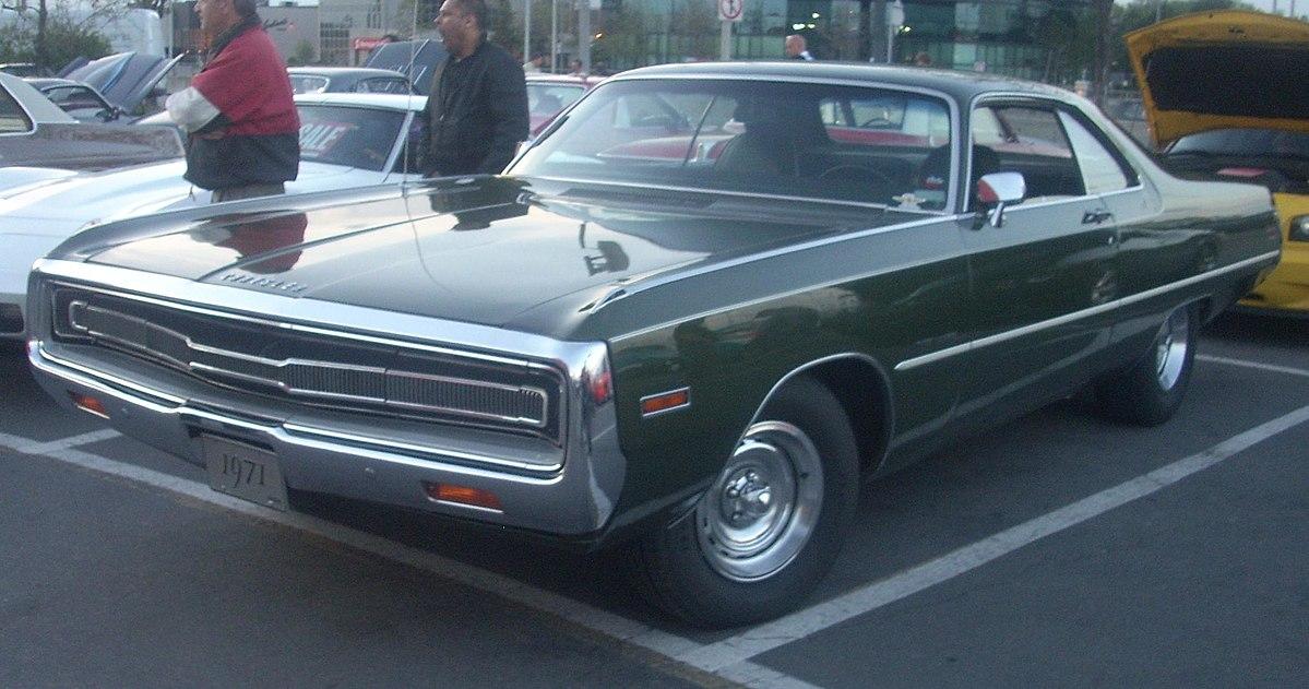 Chrysler 300 1962 - 1971 Coupe-Hardtop #8