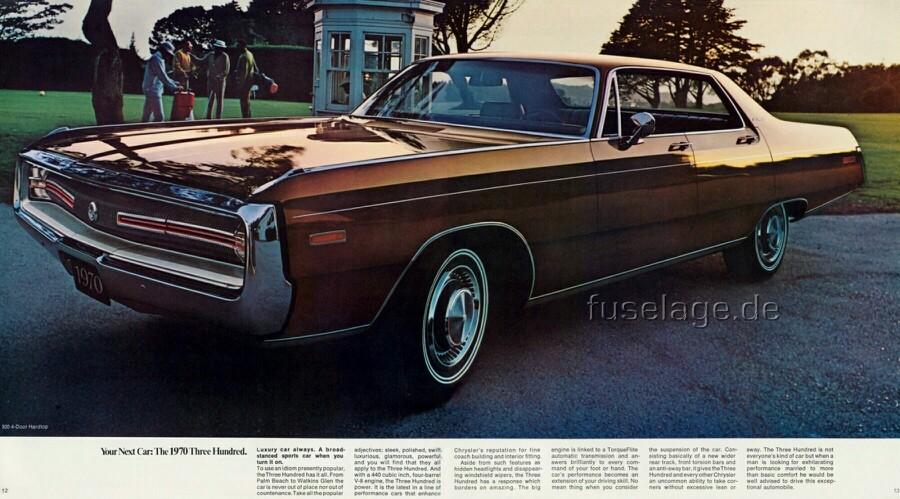 Chrysler 300 1962 - 1971 Coupe-Hardtop #5