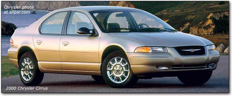 Chrysler Cirrus 1995 - 2000 Sedan #8