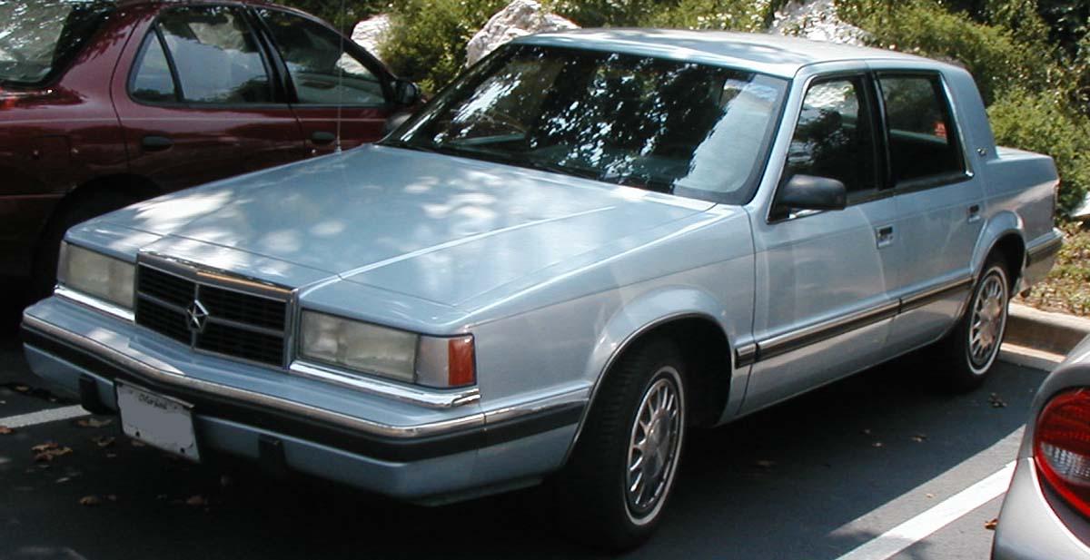 Chrysler Dynasty 1988 - 1993 Sedan #3