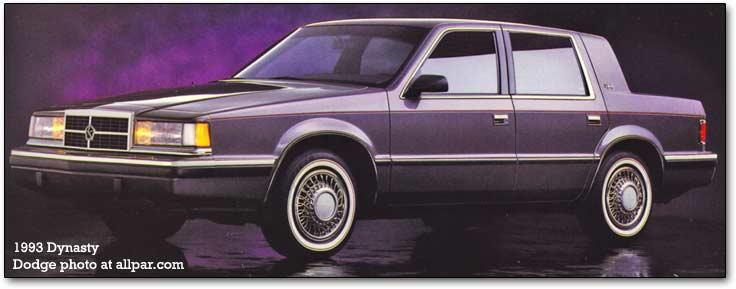 Chrysler Dynasty 1988 - 1993 Sedan #8