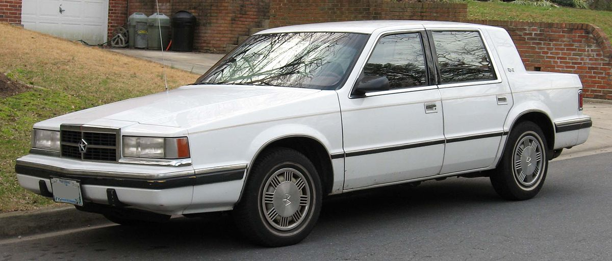Chrysler Dynasty 1988 - 1993 Sedan #6