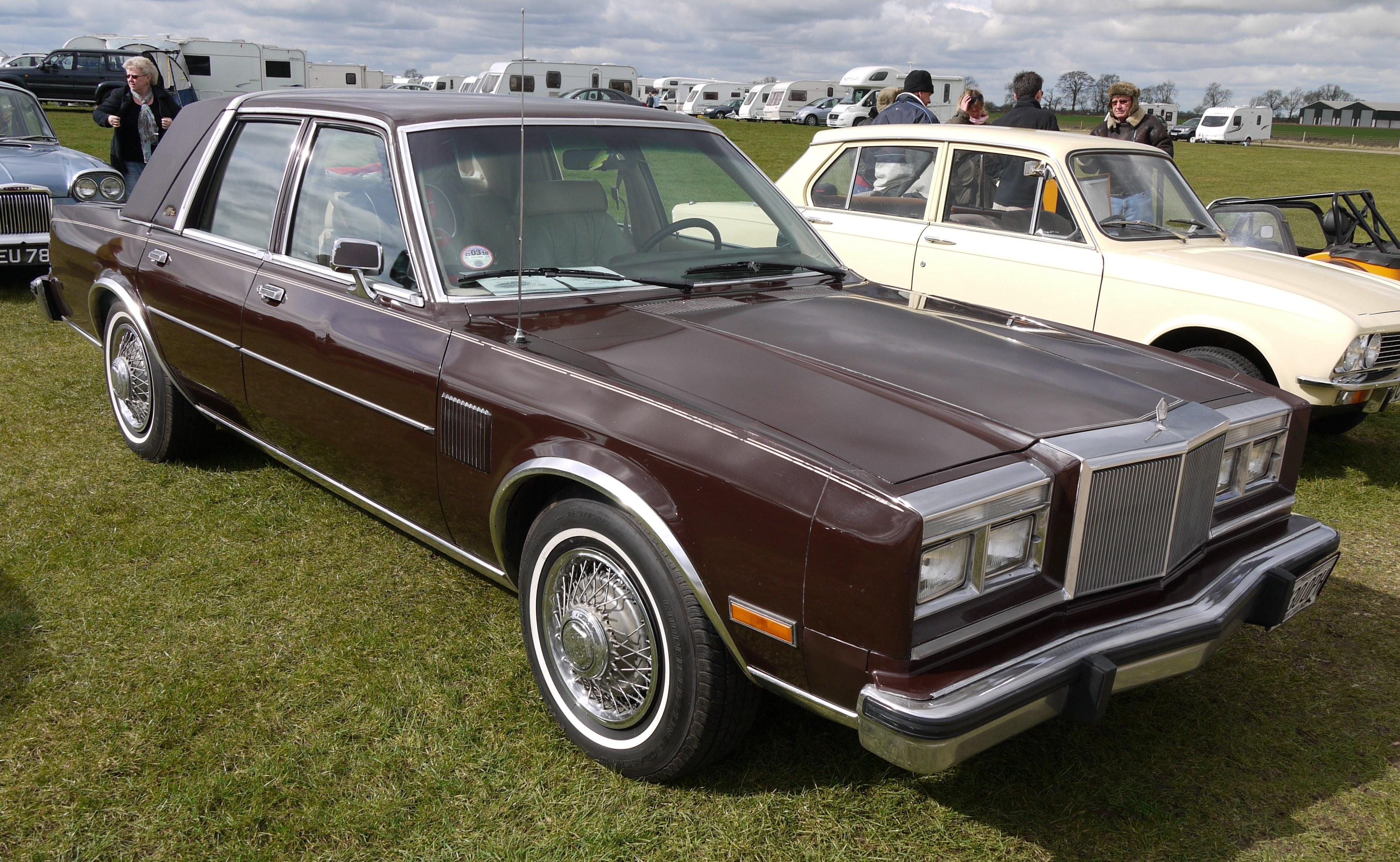 Chrysler Fifth Avenue I 1982 - 1989 Sedan #3