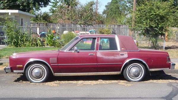 Chrysler Fifth Avenue I 1982 - 1989 Sedan #2