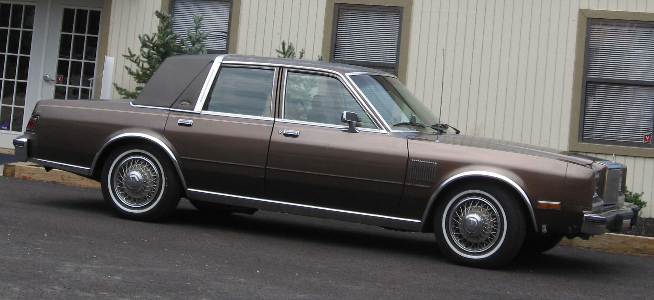 Chrysler Fifth Avenue I 1982 - 1989 Sedan #7
