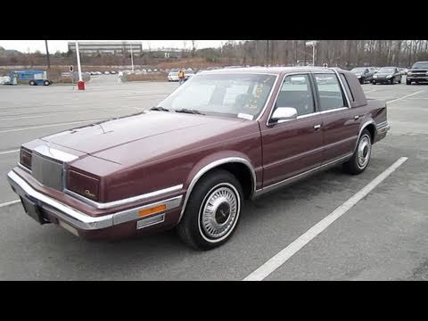 Chrysler Fifth Avenue II 1990 - 1993 Sedan #1