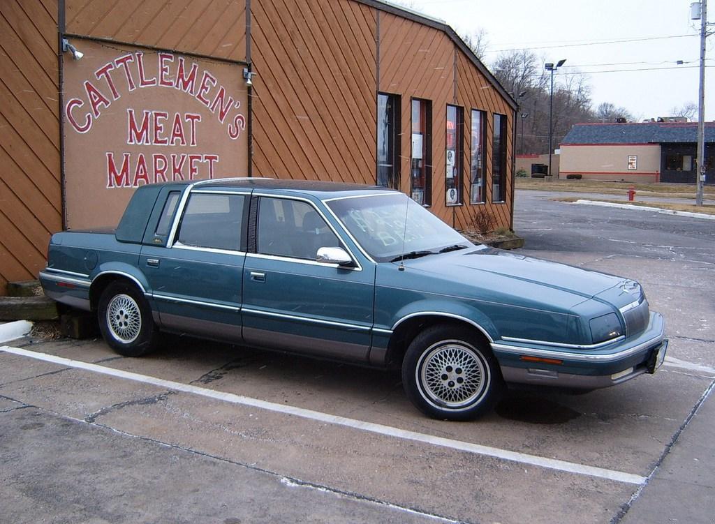 Chrysler Fifth Avenue II 1990 - 1993 Sedan #3