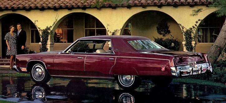 Chrysler Imperial IV 1969 - 1973 Sedan-Hardtop #8