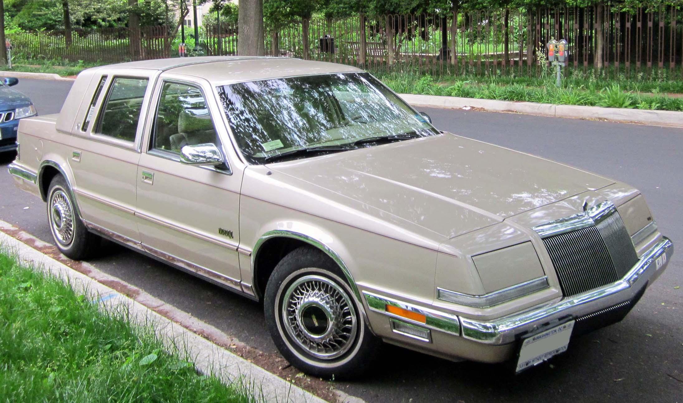 Chrysler Imperial VII 1990 - 1993 Sedan #8