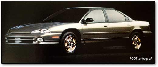 Chrysler Intrepid I 1993 - 1997 Sedan #7