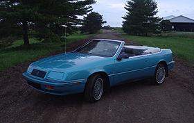 Chrysler LeBaron II 1981 - 1989 Cabriolet #5