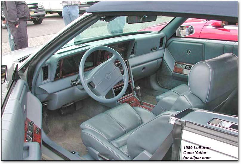Chrysler LeBaron II 1981 - 1989 Cabriolet #6