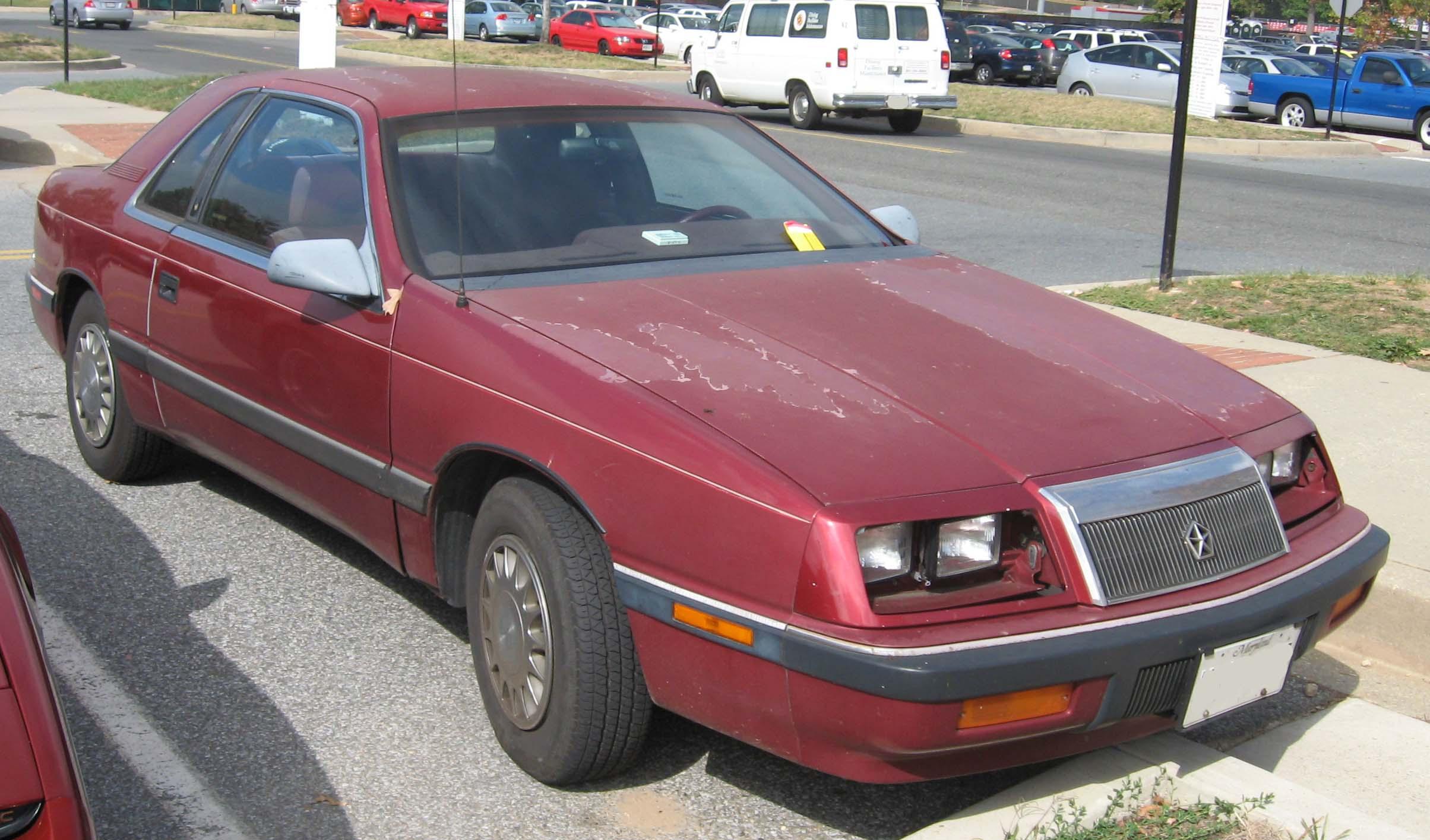 Chrysler LeBaron II 1981 - 1989 Coupe #3