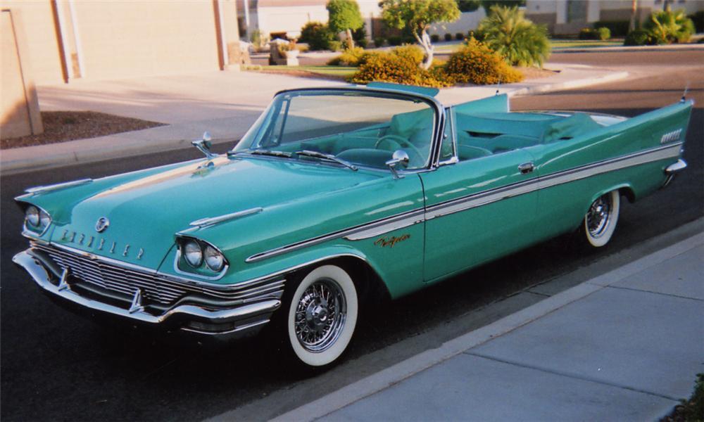 Chrysler New Yorker V 1957 - 1959 Cabriolet #4