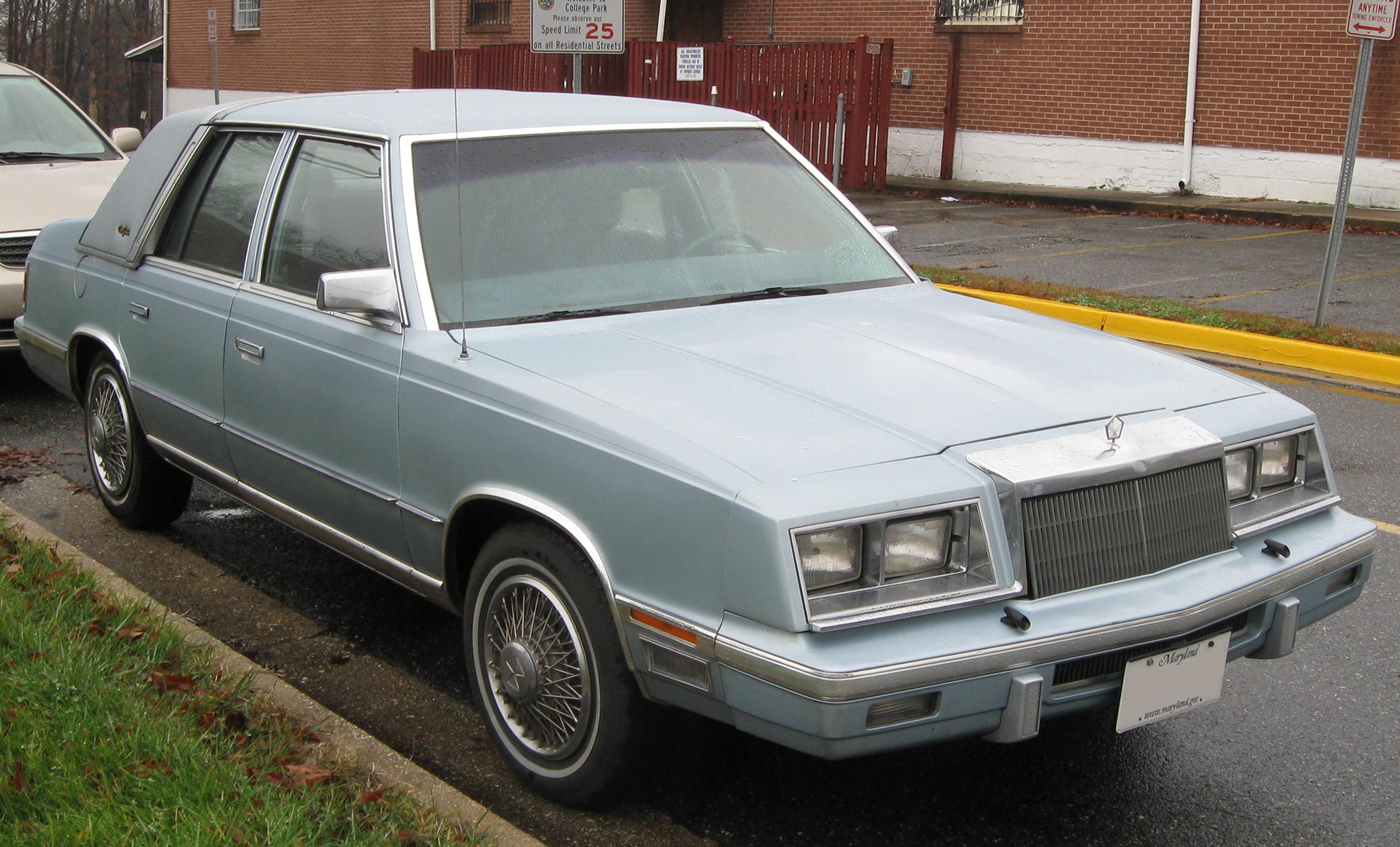 Chrysler New Yorker XIII 1989 - 1993 Sedan #5