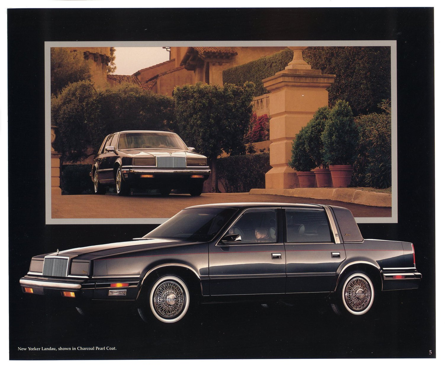 Chrysler New Yorker XIII 1989 - 1993 Sedan #6