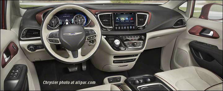 Chrysler Pacifica Ru 2016 Now Minivan 7