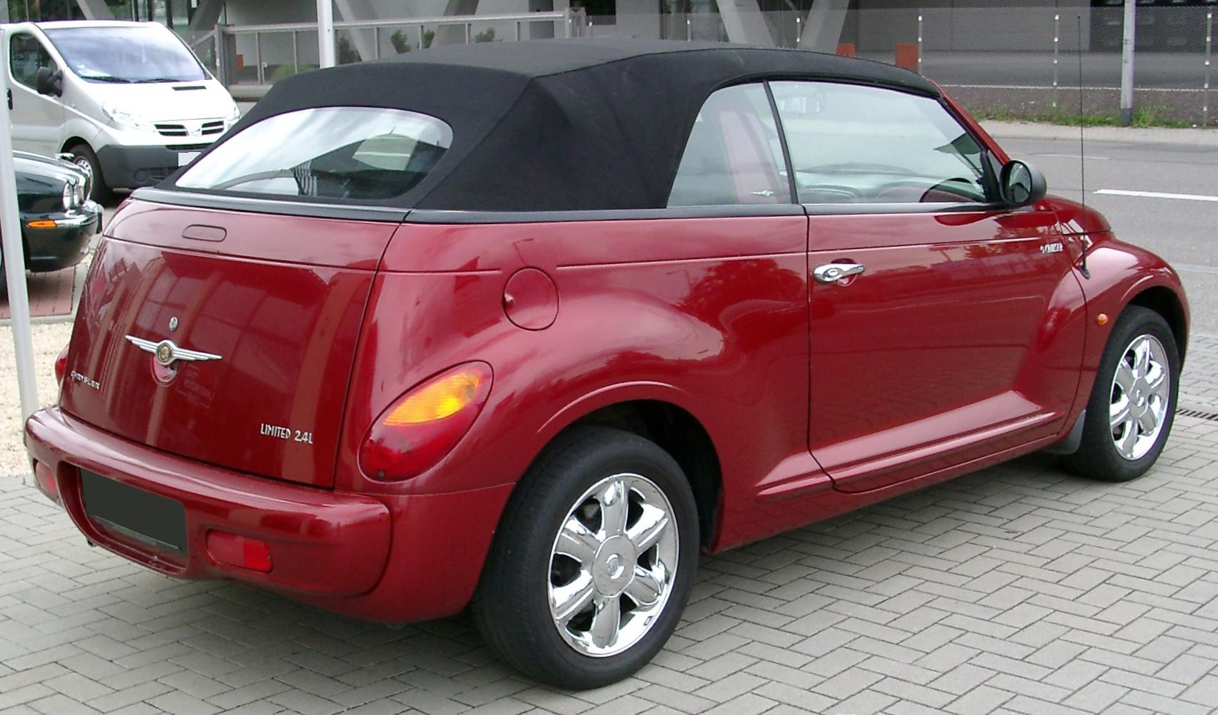 Chrysler PT Cruiser 2000 - 2010 Cabriolet #8