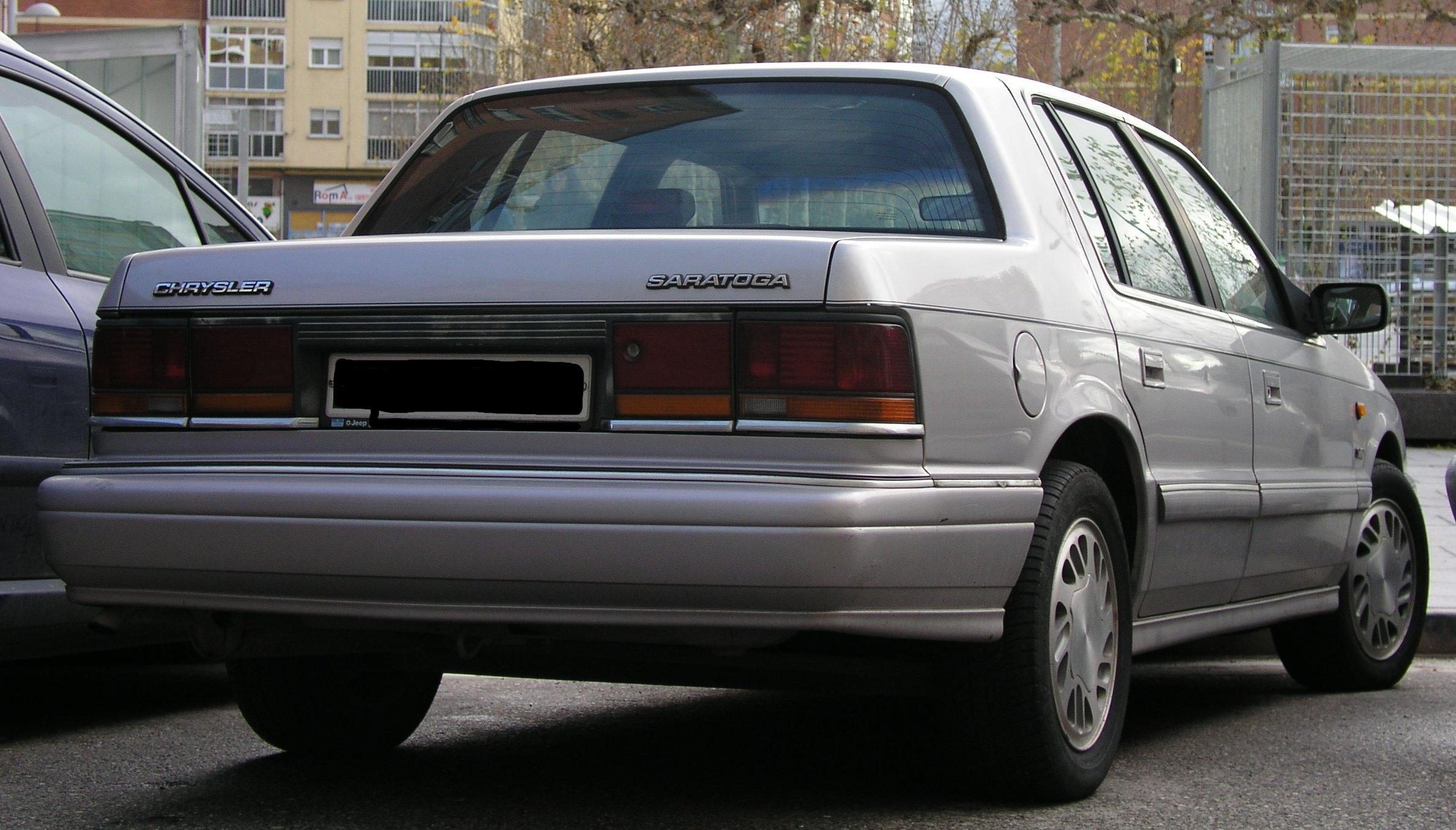 Chrysler Saratoga 1989 - 1995 Sedan #5