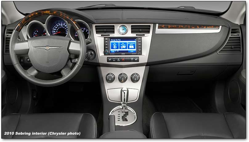 Chrysler Sebring III 2006 - 2010 Cabriolet #7