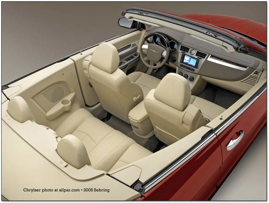 Chrysler Sebring III 2006 - 2010 Cabriolet #6