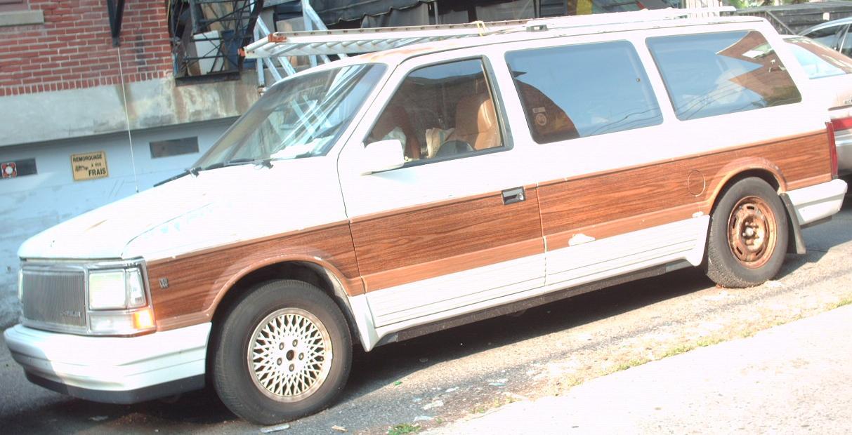 Chrysler Town & Country II 1990 - 1995 Minivan #3