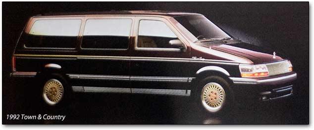 Chrysler Town & Country II 1990 - 1995 Minivan #8
