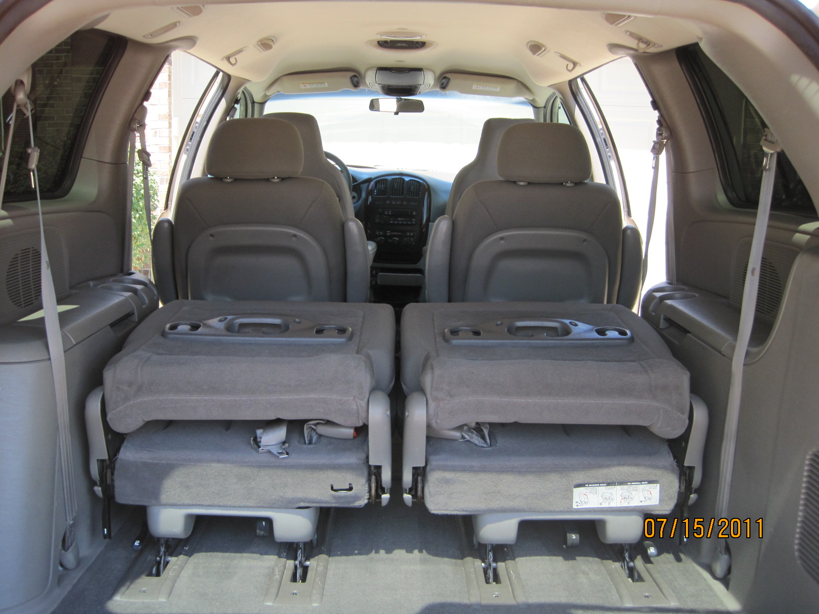 Chrysler Town And Country Interior Size