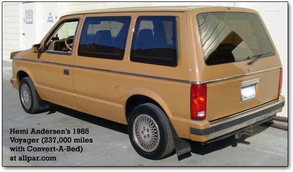 Chrysler Voyager I 1984 - 1990 Minivan #6