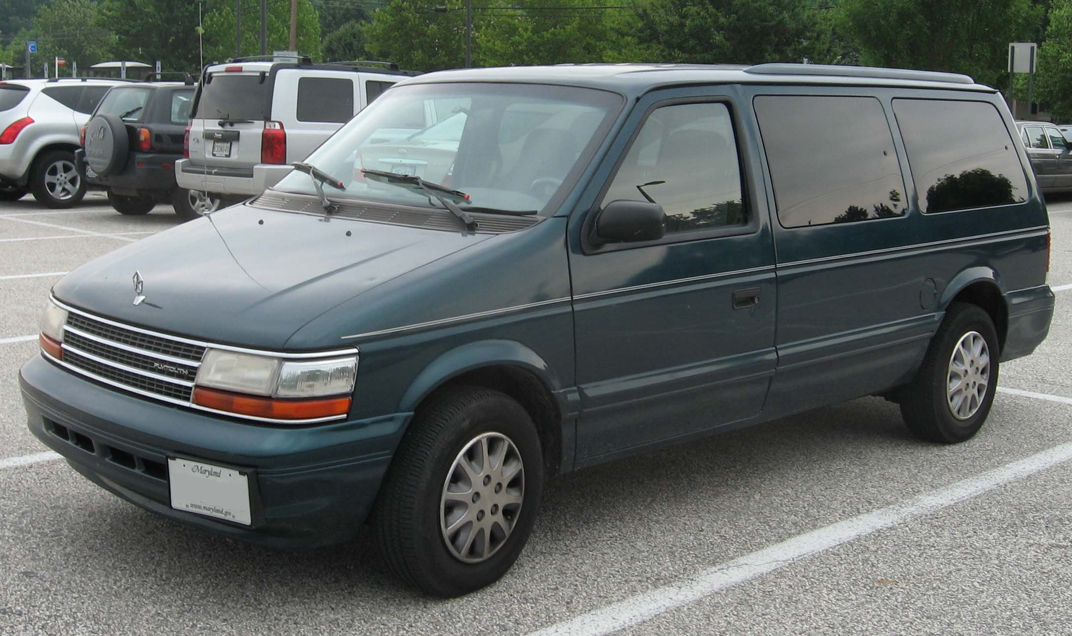 Plymouth Voyager III 1995 - 2000 Minivan #5