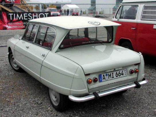 Citroen AMI 1961 - 1978 Sedan #3