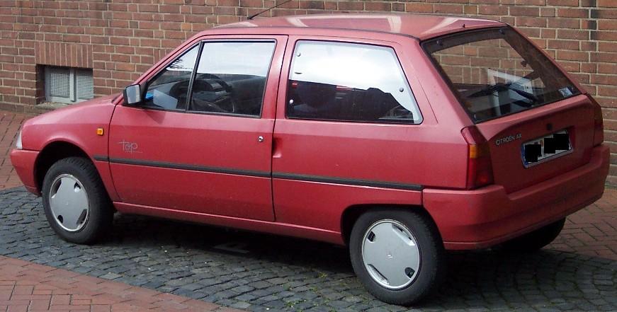 Citroen AX 1986 - 1998 Hatchback 3 door #1
