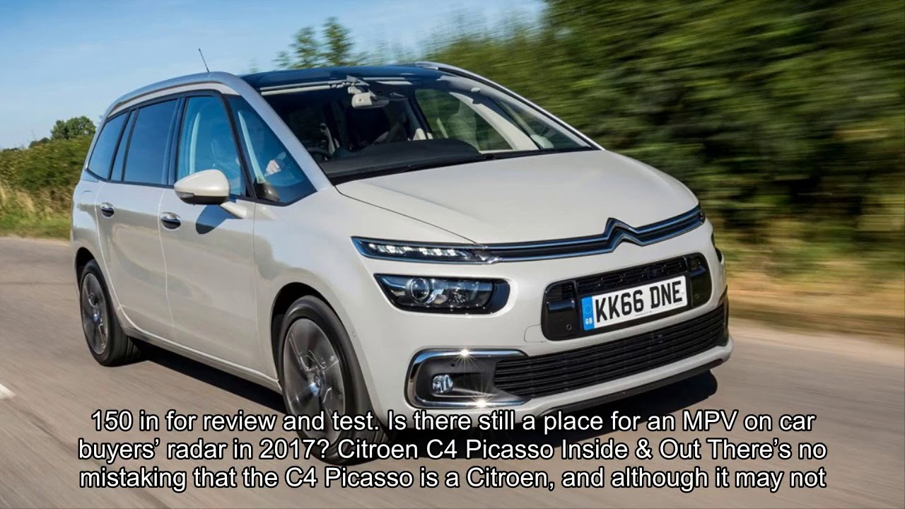 Citroen C4 Picasso II Restyling 2016 - now Compact MPV #6