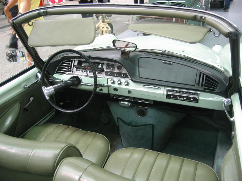 Citroen DS I Restyling 2 1968 - 1975 Cabriolet #7