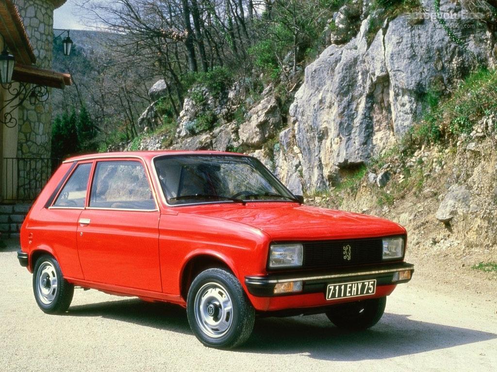 Peugeot 104 1972 - 1988 Hatchback 3 door #7
